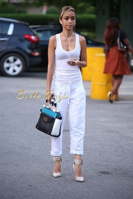 GTBank Lagos Fashion & Design Week 2014 Day 4 Street Style - Bellanaija - November2014031