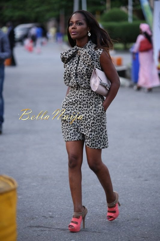 GTBank Lagos Fashion & Design Week 2014 Day 4 Street Style - Bellanaija - November2014032