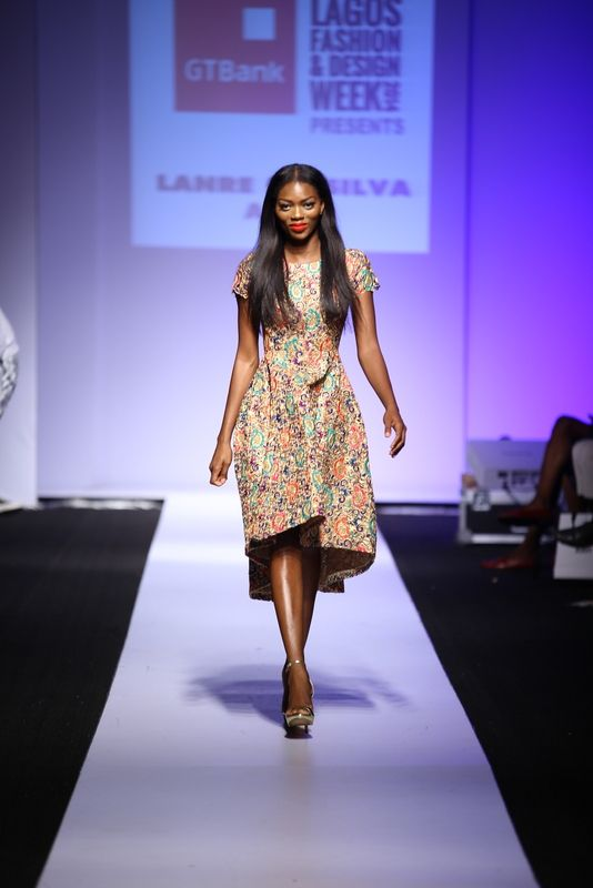 GTBank Lagos Fashion & Design Week 2014 Lanre Da Silva Ajayi - Bellanaija - November2014001