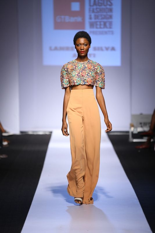 GTBank Lagos Fashion & Design Week 2014 Lanre Da Silva Ajayi - Bellanaija - November2014002