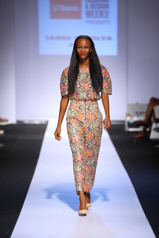 GTBank Lagos Fashion & Design Week 2014 Lanre Da Silva Ajayi - Bellanaija - November2014003