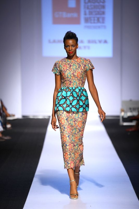GTBank Lagos Fashion & Design Week 2014 Lanre Da Silva Ajayi - Bellanaija - November2014004