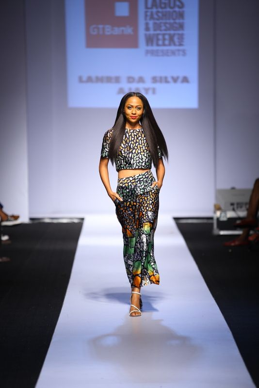 GTBank Lagos Fashion & Design Week 2014 Lanre Da Silva Ajayi - Bellanaija - November2014007