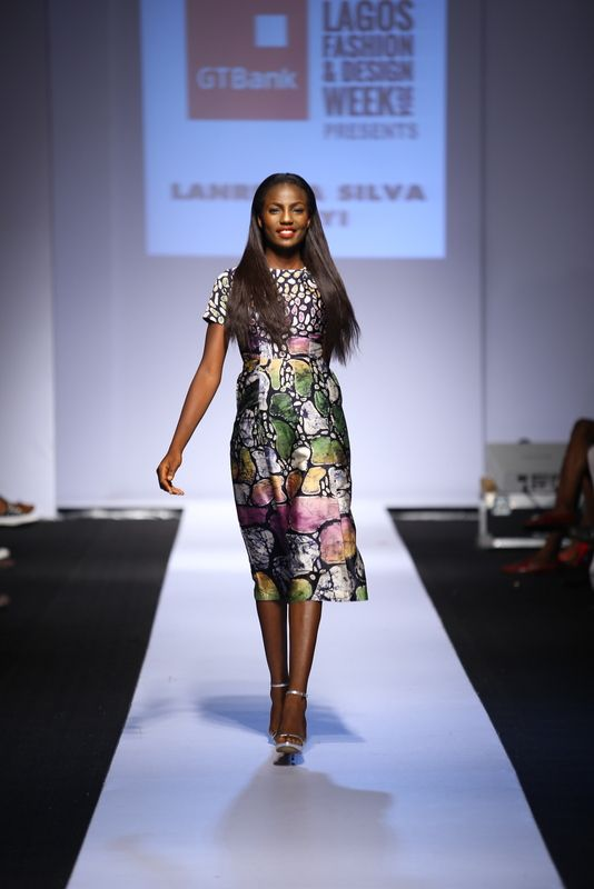 GTBank Lagos Fashion & Design Week 2014 Lanre Da Silva Ajayi - Bellanaija - November2014008