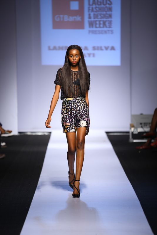 GTBank Lagos Fashion & Design Week 2014 Lanre Da Silva Ajayi - Bellanaija - November2014009