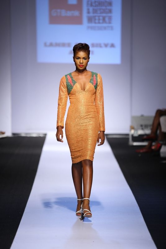GTBank Lagos Fashion & Design Week 2014 Lanre Da Silva Ajayi - Bellanaija - November2014010