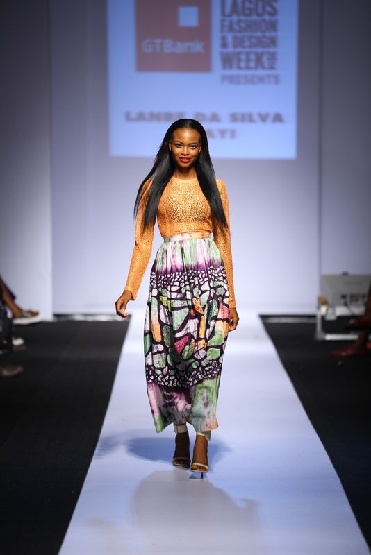 GTBank Lagos Fashion & Design Week 2014 Lanre Da Silva Ajayi - Bellanaija - November2014011