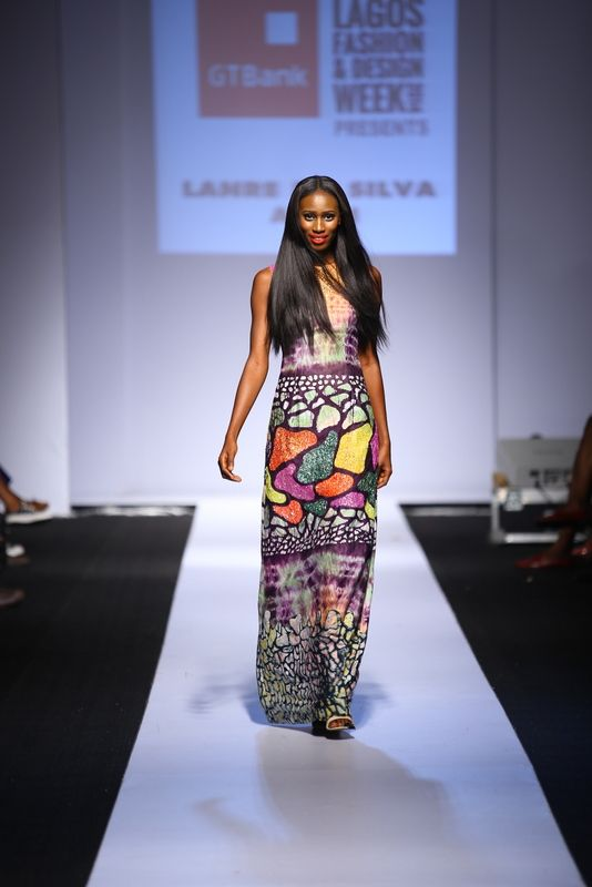 GTBank Lagos Fashion & Design Week 2014 Lanre Da Silva Ajayi - Bellanaija - November2014012