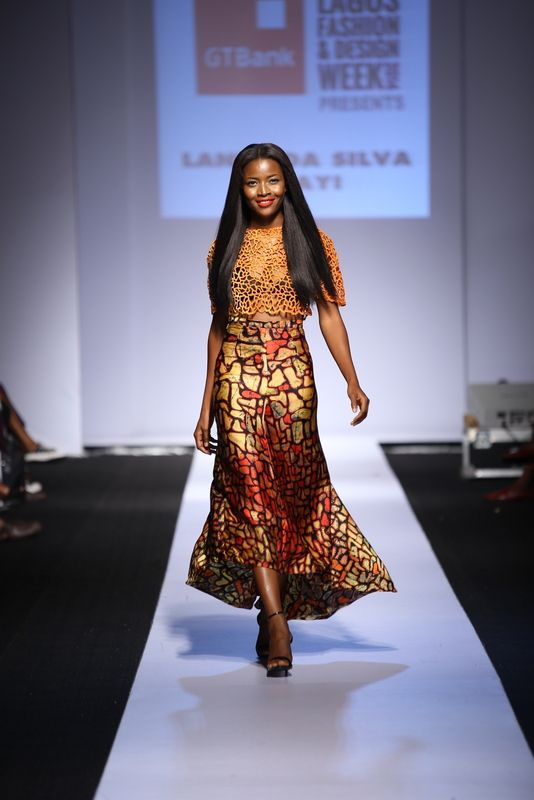 GTBank Lagos Fashion & Design Week 2014 Lanre Da Silva Ajayi - Bellanaija - November2014014