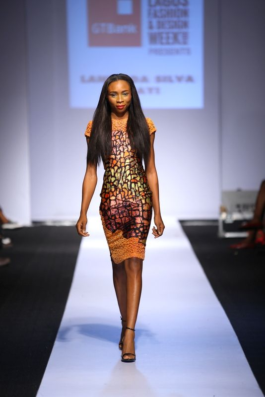 GTBank Lagos Fashion & Design Week 2014 Lanre Da Silva Ajayi - Bellanaija - November2014015