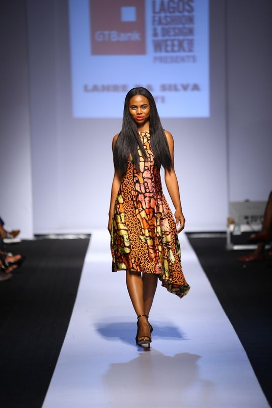 GTBank Lagos Fashion & Design Week 2014 Lanre Da Silva Ajayi - Bellanaija - November2014016