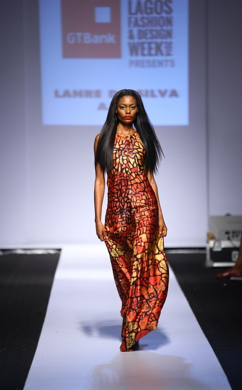 GTBank Lagos Fashion & Design Week 2014 Lanre Da Silva Ajayi - Bellanaija - November2014017