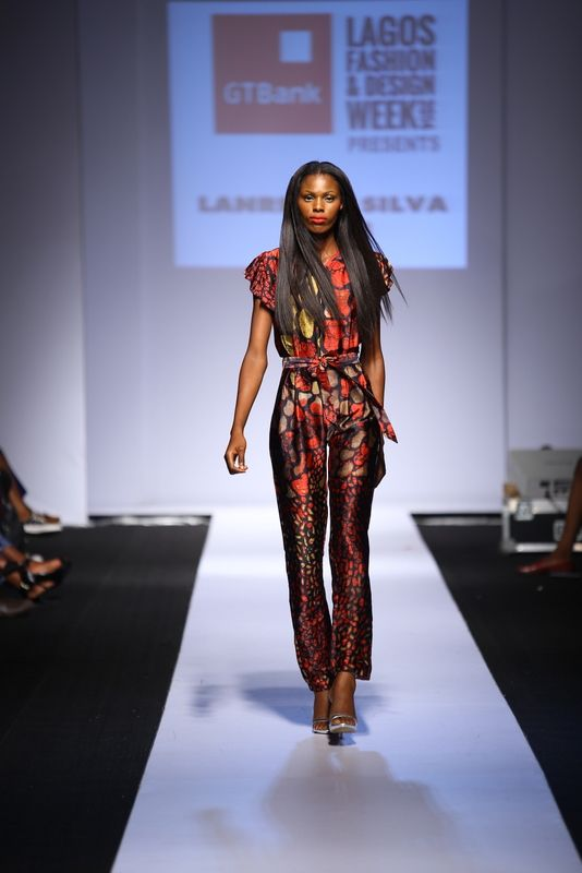 GTBank Lagos Fashion & Design Week 2014 Lanre Da Silva Ajayi - Bellanaija - November2014018