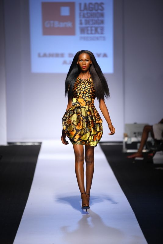 GTBank Lagos Fashion & Design Week 2014 Lanre Da Silva Ajayi - Bellanaija - November2014019