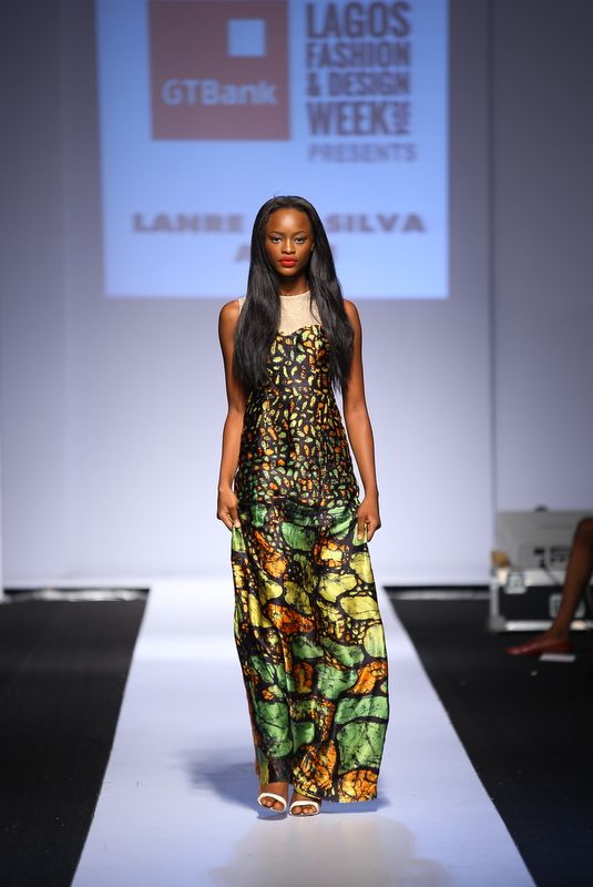 GTBank Lagos Fashion & Design Week 2014 Lanre Da Silva Ajayi - Bellanaija - November2014020