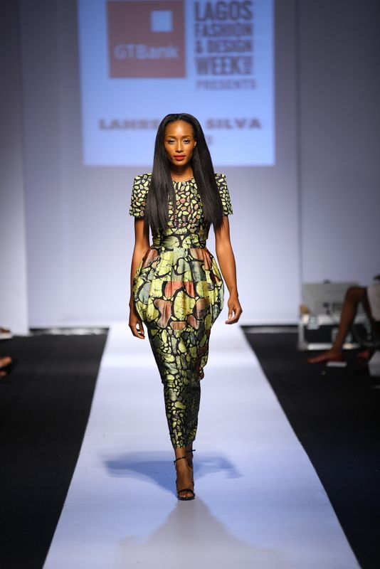 GTBank Lagos Fashion & Design Week 2014 Lanre Da Silva Ajayi - Bellanaija - November2014021