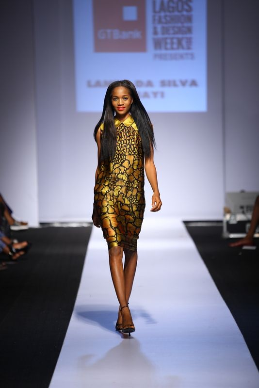 GTBank Lagos Fashion & Design Week 2014 Lanre Da Silva Ajayi - Bellanaija - November2014024