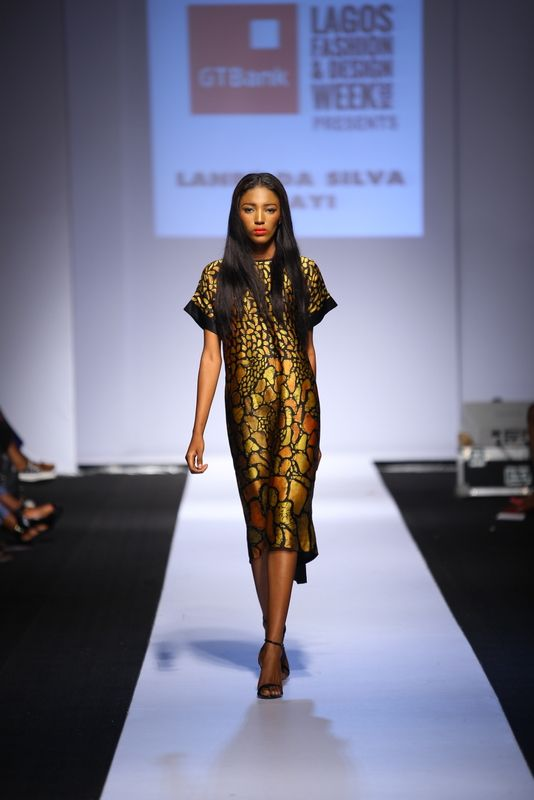 GTBank Lagos Fashion & Design Week 2014 Lanre Da Silva Ajayi - Bellanaija - November2014025
