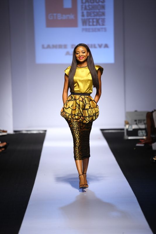 GTBank Lagos Fashion & Design Week 2014 Lanre Da Silva Ajayi - Bellanaija - November2014026