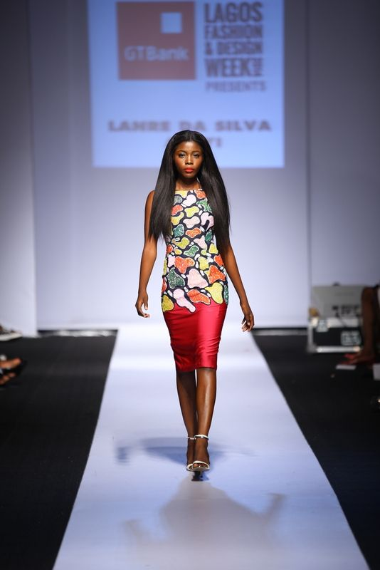 GTBank Lagos Fashion & Design Week 2014 Lanre Da Silva Ajayi - Bellanaija - November2014027