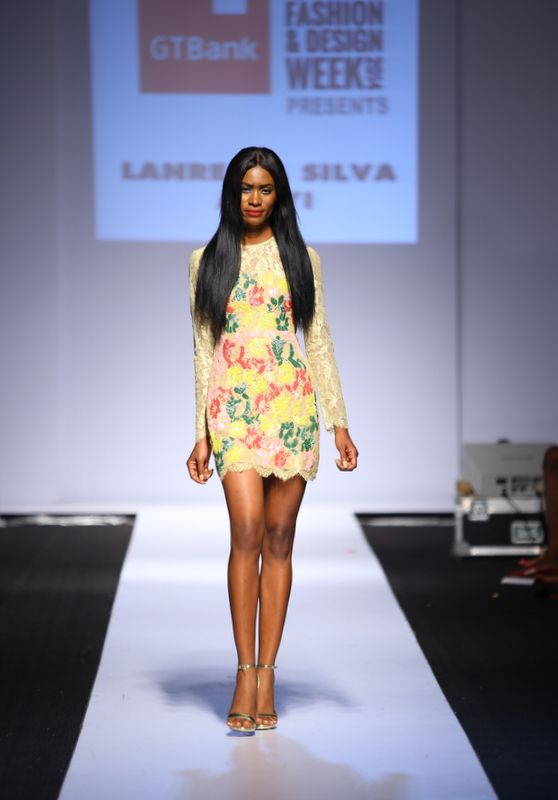 GTBank Lagos Fashion & Design Week 2014 Lanre Da Silva Ajayi - Bellanaija - November2014030