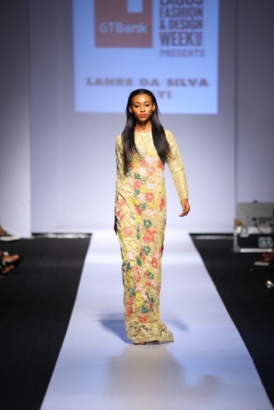 GTBank Lagos Fashion & Design Week 2014 Lanre Da Silva Ajayi - Bellanaija - November2014031