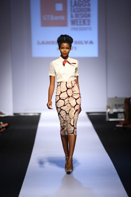 GTBank Lagos Fashion & Design Week 2014 Lanre Da Silva Ajayi - Bellanaija - November2014032