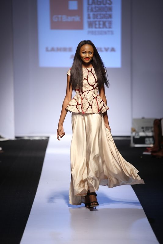 GTBank Lagos Fashion & Design Week 2014 Lanre Da Silva Ajayi - Bellanaija - November2014034