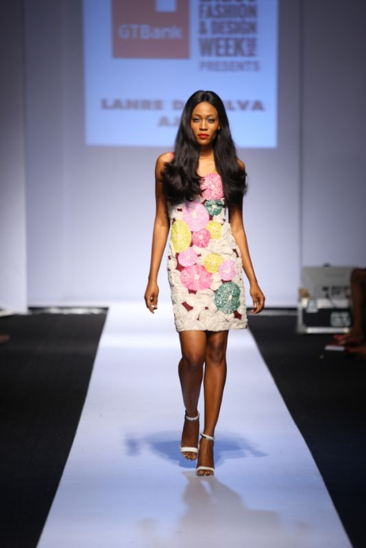 GTBank Lagos Fashion & Design Week 2014 Lanre Da Silva Ajayi - Bellanaija - November2014035