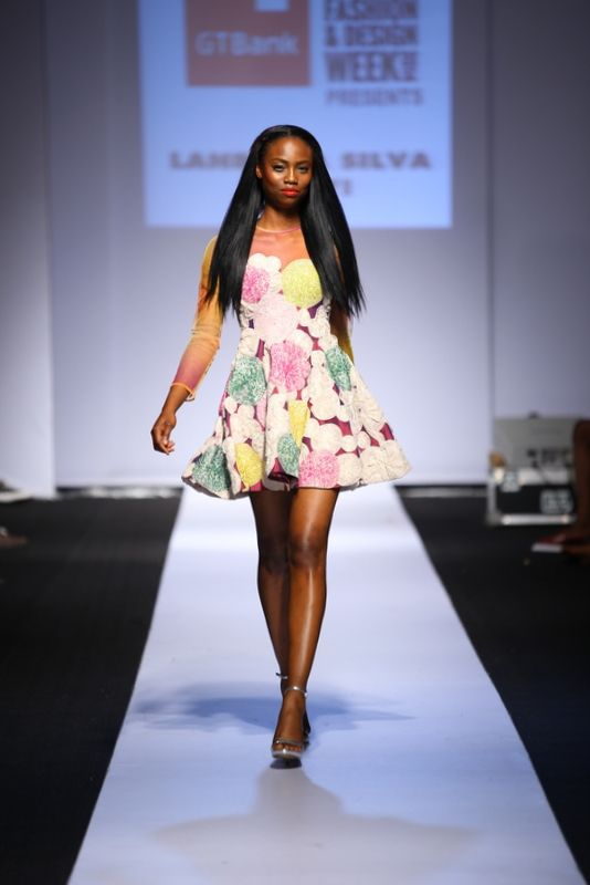 GTBank Lagos Fashion & Design Week 2014 Lanre Da Silva Ajayi - Bellanaija - November2014036
