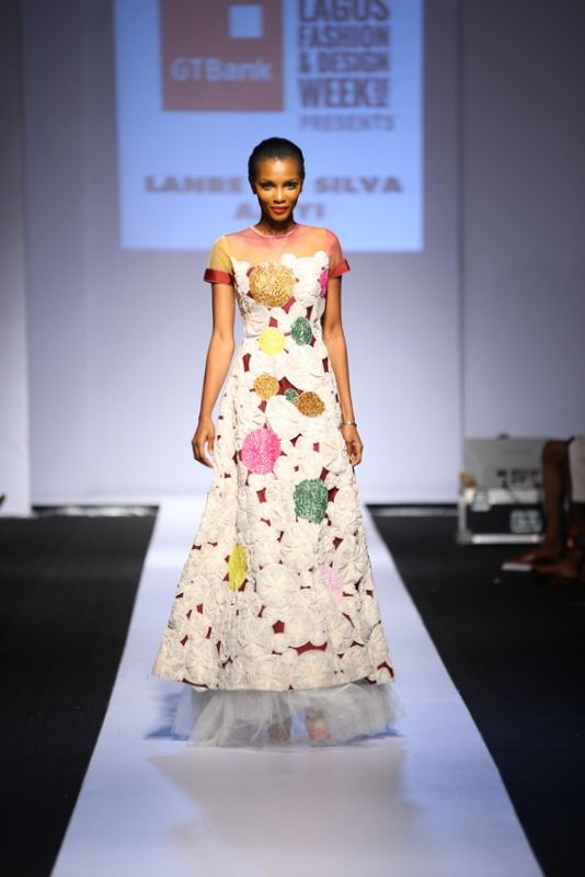GTBank Lagos Fashion & Design Week 2014 Lanre Da Silva Ajayi - Bellanaija - November2014037