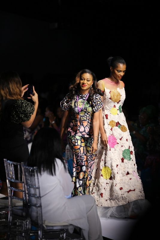 GTBank Lagos Fashion & Design Week 2014 Lanre Da Silva Ajayi - Bellanaija - November2014039