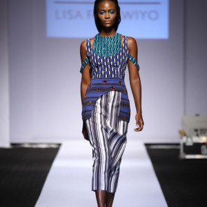 GTBank Lagos Fashion & Design Week 2014 Lisa Folawiyo - Bellanaija - October2014002
