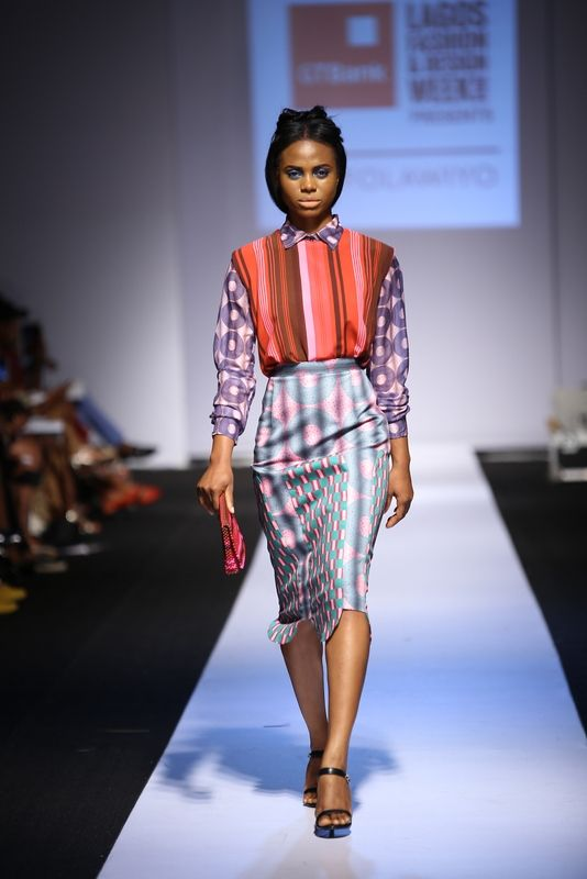 GTBank Lagos Fashion & Design Week 2014 Lisa Folawiyo - Bellanaija - October2014008