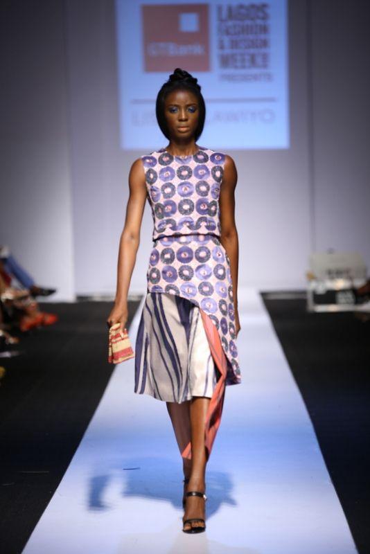 GTBank Lagos Fashion & Design Week 2014 Lisa Folawiyo - Bellanaija - October2014009