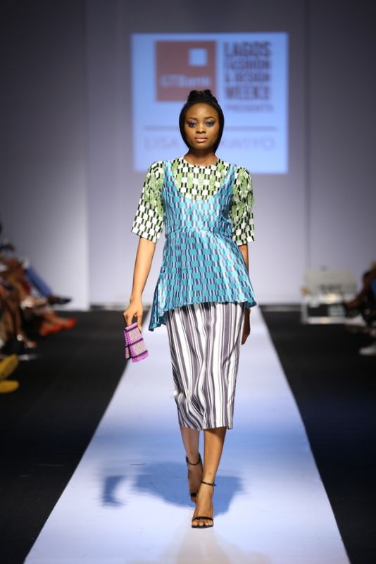 GTBank Lagos Fashion & Design Week 2014 Lisa Folawiyo - Bellanaija - October2014013