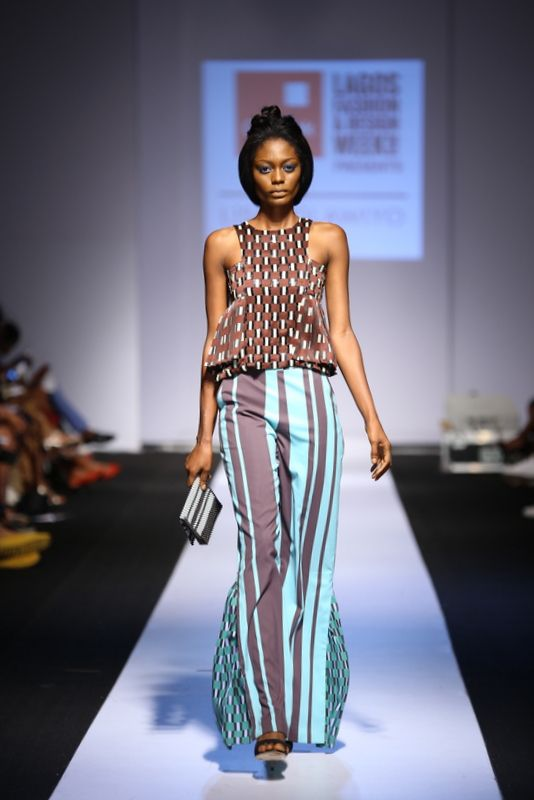GTBank Lagos Fashion & Design Week 2014 Lisa Folawiyo - Bellanaija - October2014015