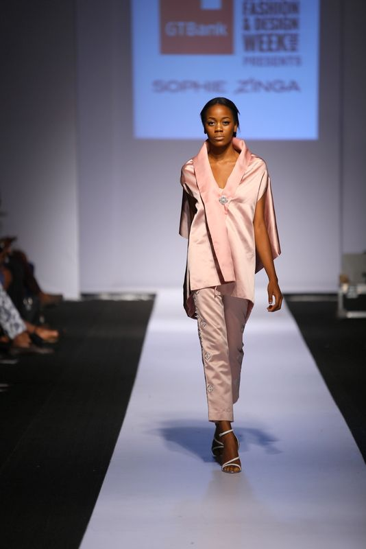 GTBank Lagos Fashion & Design Week 2014 Sophie Zinga - Bellanaija - November2014003