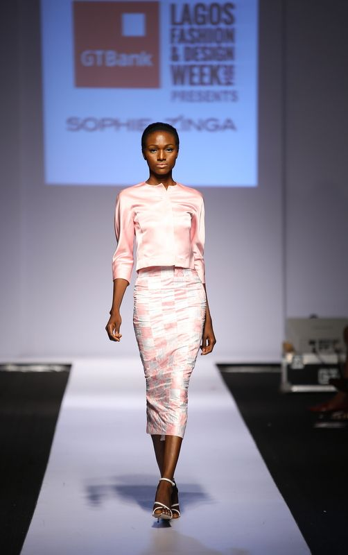 GTBank Lagos Fashion & Design Week 2014 Sophie Zinga - Bellanaija - November2014012