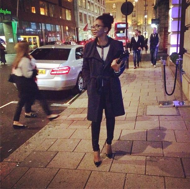 Genevieve Nnaji - London - Natural Hair - November 2014 - BN 2
