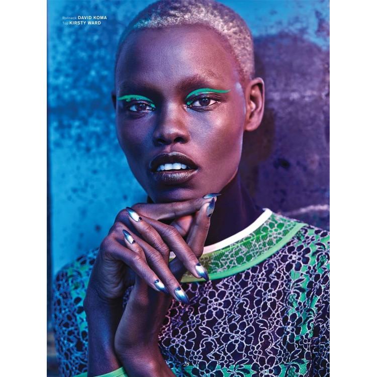 Grace Bol for Archetype 02 Magazine - Bellanaija - November 2014