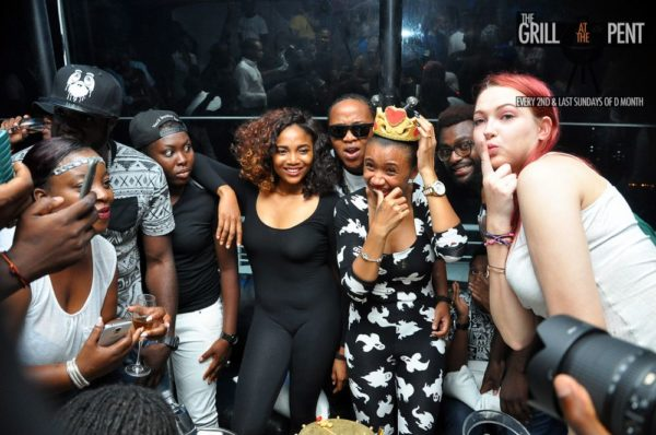 Grill at the Pent Back to the Future Edition - Bellanaija - October2014046