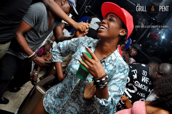 Grill at the Pent Back to the Future Edition - Bellanaija - October2014049