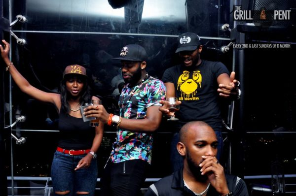 Grill at the Pent Back to the Future Edition - Bellanaija - October2014063