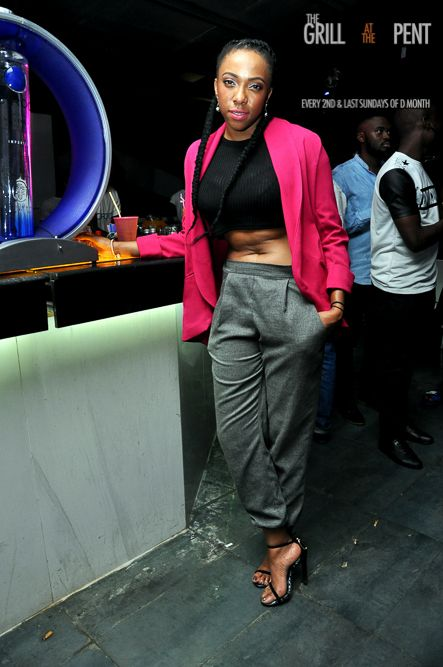 Grill at the Pent Back to the Future Edition - Bellanaija - October2014077