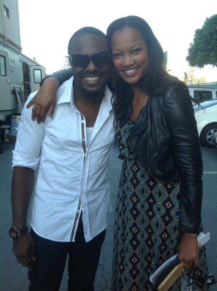 from nollywood to hollywood view photos of jim iyke with garcelle beauvais brian white more. Black Bedroom Furniture Sets. Home Design Ideas