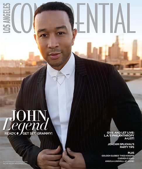 John Legend is serving up some major hotness in his feature for Los ...