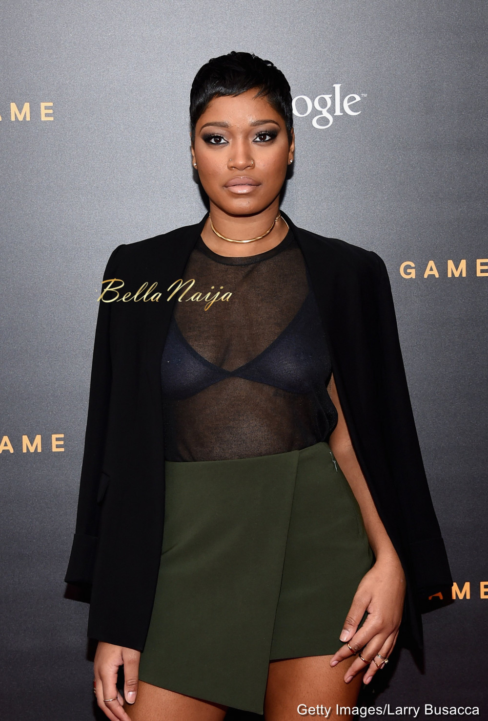 Wardrobe Malfunction or Fashion? Keke Palmer Steps Out In ...