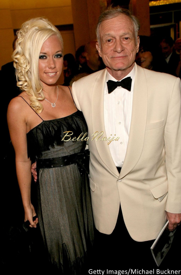 Kendra Wilkinson and Hugh Hefner - BellaNaija - November 2014