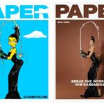 Kim Kardashian West Paper Cover Art by Artist AleXsandro Palombo - Bellanaija - November2014001 (6)
